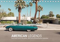 AMERICAN LEGENDS (Tischkalender 2021 DIN A5 quer) von Becker,  Roman