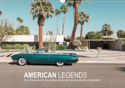AMERICAN LEGENDS (Wandkalender 2021 DIN A3 quer) von Becker,  Roman