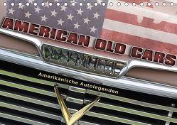 American Old Cars – Amerikanische Autolegenden (Tischkalender 2018 DIN A5 quer) von Metternich,  Doris