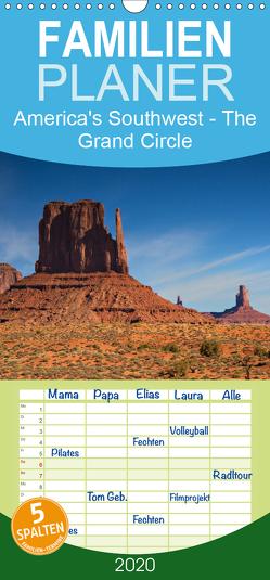 America's Southwest – The Grand Circle – Familienplaner hoch (Wandkalender 2020 , 21 cm x 45 cm, hoch) von Schonnop,  Juergen
