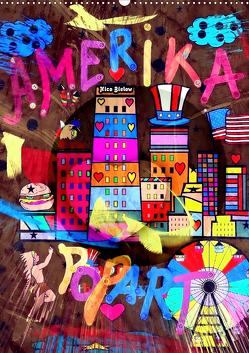 Amerika Popart von Nico Bielow (Wandkalender 2020 DIN A2 hoch) von Bielow,  Nico