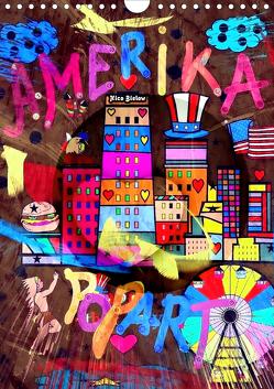 Amerika Popart von Nico Bielow (Wandkalender 2020 DIN A4 hoch) von Bielow,  Nico
