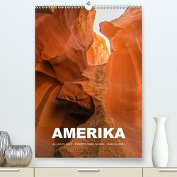 Amerika (Premium, hochwertiger DIN A2 Wandkalender 2021, Kunstdruck in Hochglanz) von Stut,  Mona