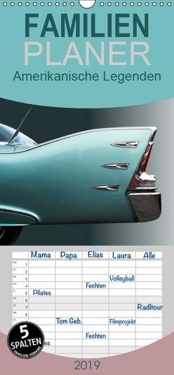 Amerikanische Legenden – Autoklassiker der 50er und 60er Jahre – Familienplaner hoch (Wandkalender 2019 , 21 cm x 45 cm, hoch) von Gube,  Beate