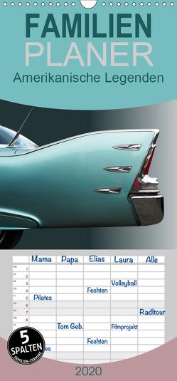 Amerikanische Legenden – Autoklassiker der 50er und 60er Jahre – Familienplaner hoch (Wandkalender 2020 , 21 cm x 45 cm, hoch) von Gube,  Beate