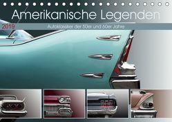 Amerikanische Legenden – Autoklassiker der 50er und 60er Jahre (Tischkalender 2019 DIN A5 quer) von Gube,  Beate