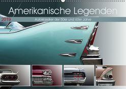 Amerikanische Legenden – Autoklassiker der 50er und 60er Jahre (Wandkalender 2019 DIN A2 quer) von Gube,  Beate
