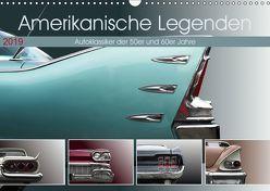 Amerikanische Legenden – Autoklassiker der 50er und 60er Jahre (Wandkalender 2019 DIN A3 quer) von Gube,  Beate