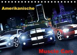 Amerikanische Muscle Cars (Tischkalender 2019 DIN A5 quer) von 2016 by Atlantismedia,  (c)