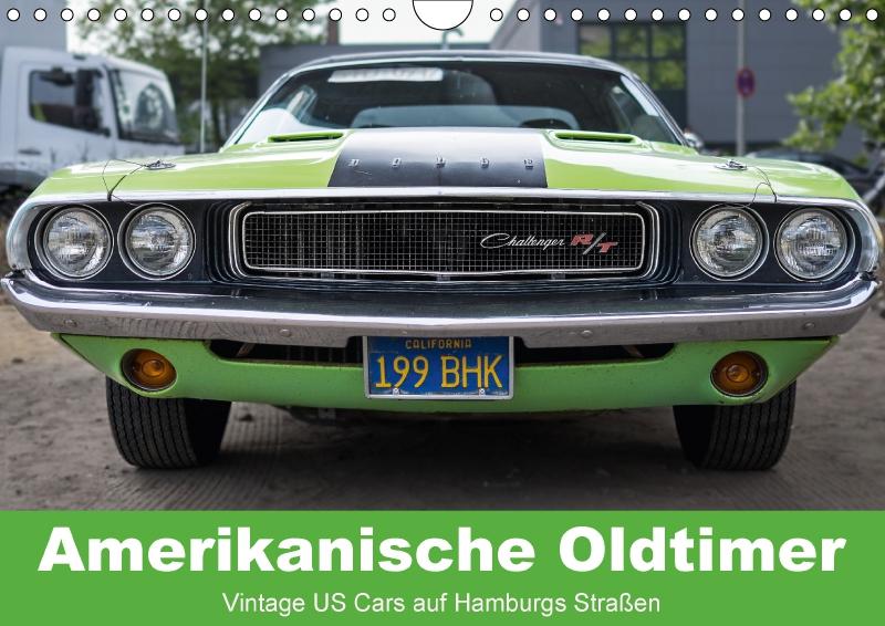 amerikanische oldtimer - vintage us cars auf hamburgs straßen (wandka