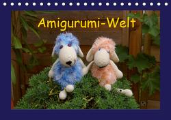 Amigurumi-Welt (Tischkalender 2021 DIN A5 quer) von Schneller,  Helmut