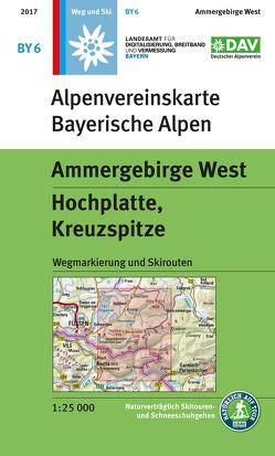 Ammergebirge West, Hochplatte, Kreuzspitze