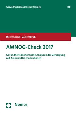 AMNOG-Check 2017 von Cassel,  Dieter, Ulrich,  Volker