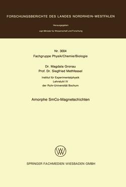 Amorphe SmCo-Magnetschichten von Gronau,  Magdala
