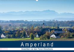 Amperland – Ansichten vor den Toren Münchens (Wandkalender 2020 DIN A2 quer) von Bogumil,  Michael