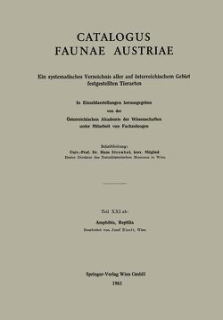 Amphibia, Reptilia von Eiselt,  Josef
