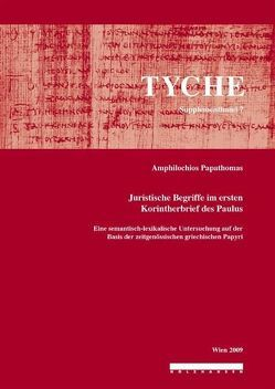 Tyche Supplement 7 (2009) von Papathomas,  Amphilochios