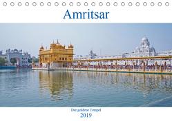 Amritsar – Der goldene Tempel (Tischkalender 2019 DIN A5 quer) von Leonhardy,  Thomas