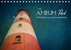 AMRUM Art (Tischkalender 2019 DIN A5 quer) von DESIGN Photo + PhotoArt,  AD, Dölling,  Angela