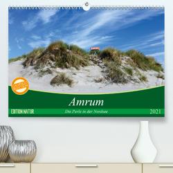 Amrum, die Perle in der Nordsee (Premium, hochwertiger DIN A2 Wandkalender 2021, Kunstdruck in Hochglanz) von Klenke,  Matthias