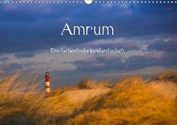 Amrum – Eine farbenfrohe Insellandschaft (Wandkalender 2019 DIN A3 quer) von Koch - Siko-Fotomomente.de,  Silke