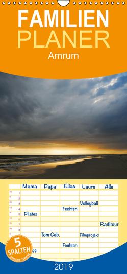Amrum – Familienplaner hoch (Wandkalender 2019 , 21 cm x 45 cm, hoch) von Kienitz,  Carsten