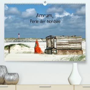 Amrum, Perle der Nordsee (Premium, hochwertiger DIN A2 Wandkalender 2021, Kunstdruck in Hochglanz) von Fröhlich,  Simona