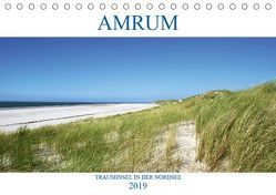 Amrum – Trauminsel in der Nordsee (Tischkalender 2019 DIN A5 quer) von Stoll,  Sascha