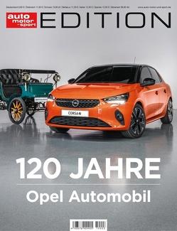 auto motor und sport Edition – 120 Jahre Opel