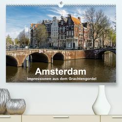 Amsterdam – Impressionen aus dem Grachtengordel (Premium, hochwertiger DIN A2 Wandkalender 2020, Kunstdruck in Hochglanz) von Seethaler,  Thomas