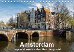 Amsterdam – Impressionen aus dem Grachtengordel (Tischkalender 2019 DIN A5 quer) von Seethaler,  Thomas