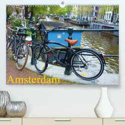 Amsterdam (Premium, hochwertiger DIN A2 Wandkalender 2021, Kunstdruck in Hochglanz) von Juretzky,  Ute