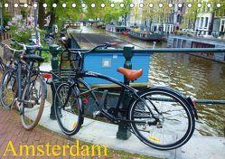 Amsterdam (Tischkalender 2019 DIN A5 quer) von Juretzky,  Ute