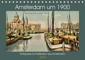 Amsterdam um 1900 (Tischkalender 2020 DIN A5 quer) von Siebert,  Jens