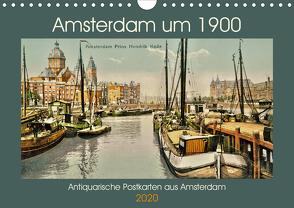 Amsterdam um 1900 (Wandkalender 2020 DIN A4 quer) von Siebert,  Jens