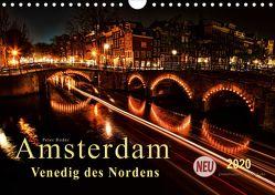 Amsterdam – Venedig des Nordens (Wandkalender 2020 DIN A4 quer) von Roder,  Peter