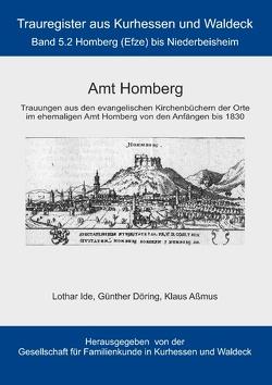 Amt Homberg von Aßmus,  Klaus, Döring,  Günther, Gesellschaft für Familienkunde in Kurhessen und Waldeck e.V.,  GFKW, Ide,  Lothar