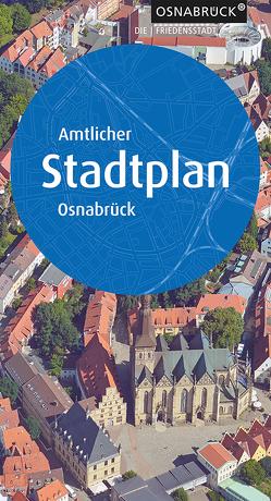 Amtlicher Stadtplan Osnabrück von Stadt,  Osnabrück