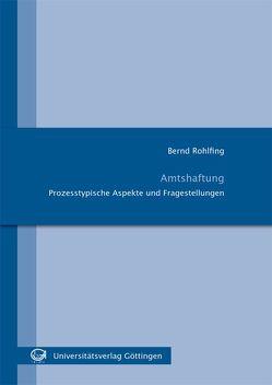 Amtshaftung von Rohlfing,  Bernd