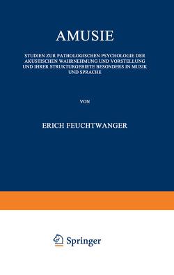 Amusie von Feuchtwanger,  Erich