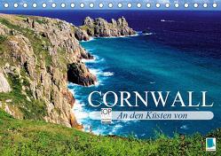 An den Küsten von Cornwall (Tischkalender 2019 DIN A5 quer) von CALVENDO
