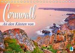 An den Küsten von Cornwall (Tischkalender 2020 DIN A5 quer) von CALVENDO