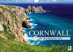 An den Küsten von Cornwall (Wandkalender 2019 DIN A4 quer) von CALVENDO