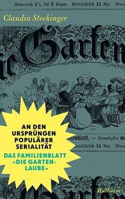 An den Ursprüngen populärer Serialität von Stockinger,  Claudia