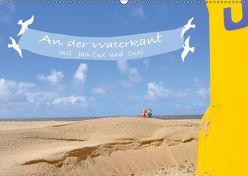 An der Waterkant mit Jan Cux und Cuxi (Wandkalender 2019 DIN A2 quer) von Exner,  Kornelia, kexDESIGN