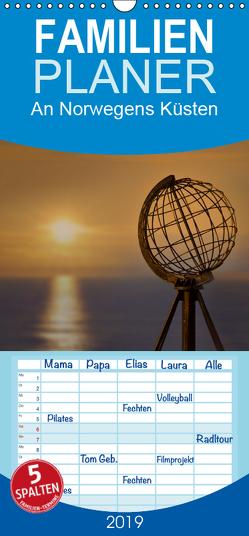 An Norwegens Küsten – Familienplaner hoch (Wandkalender 2019 , 21 cm x 45 cm, hoch) von calmbacher,  Christiane