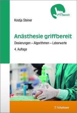 Anästhesie griffbereit von Steiner,  Kostja