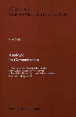Analogie im Germanischen