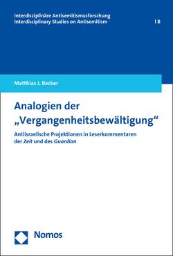 """Analogien der """"Vergangenheitsbewältigung"""" von Becker,  Matthias"""