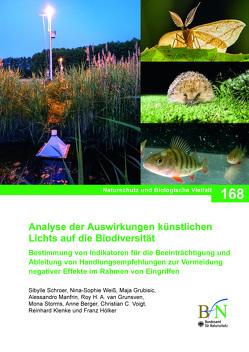 Analyse der Auswirkungen künstlichen Lichts auf die Biodiversität von Bundesamt für Naturschutz